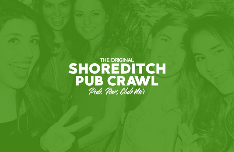 Shoreditch Pub Crawl Cover Photo